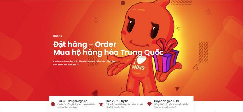 Dịch vụ đặt hộ hàng trên 1688 Việt Nam của iChina Company